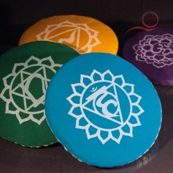Coussins ronds pour bols tibetains