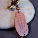 Pendant bouddha en bois, guanyin, lyon