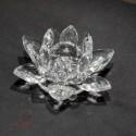 Fleur de lotus, cristal