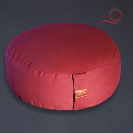 Coussin de méditation, rouge
