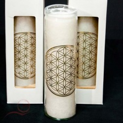 life flower candle