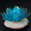 Bougeoir lotus bleu, lyon