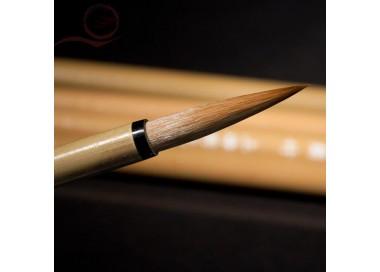 Pinceau calligraphie, Zhou Huchen, poil loup, M