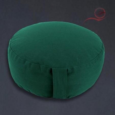 Coussin de méditation, vert, bio