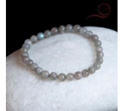 Bracelet, en perles de labradorite, 6mm