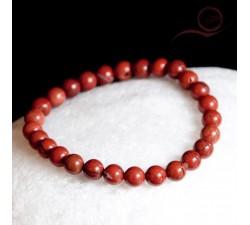 red jaspe bracelet