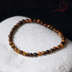 Tiger eye stone bracelet 4mm