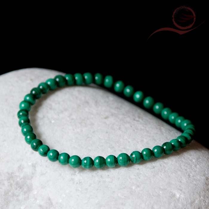Malachite bracelet 4mm