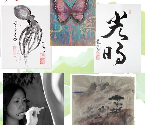 exposition, 5 artistes autour de l'Asie