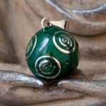 bola-de-grossesse-vert