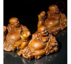 Bouddha rieur couche