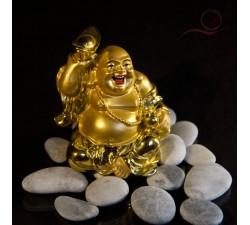 bouddha rieur or