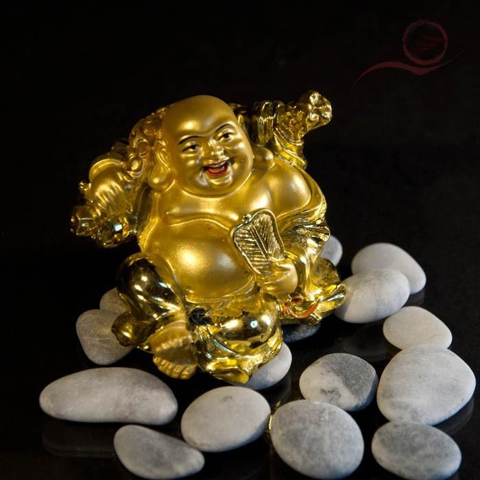 Mini bouddha rieur de l'abondance  7cm