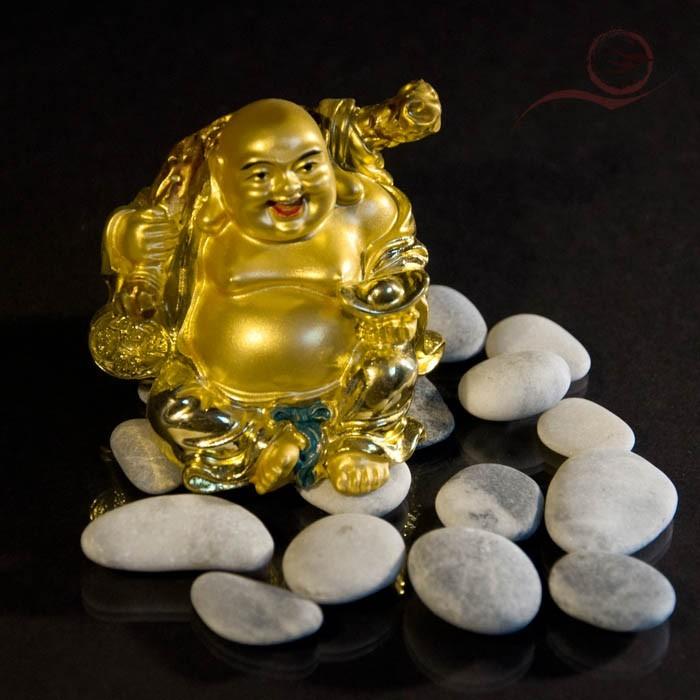 Mini bouddha rieur de la fortune 7cm