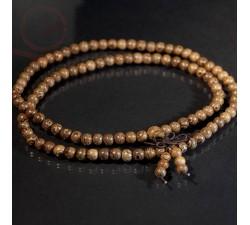 Mala en perles de bois