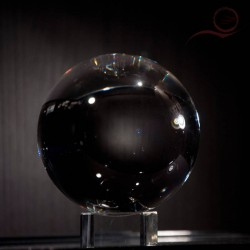 crystal ball, 8 cm