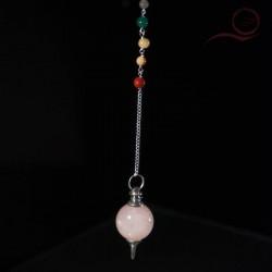 advanced rose quartz pendulum 7