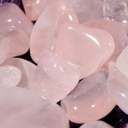 Pierres roulees quartz rose