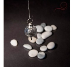 Rock crystal pendulum 7 chakras