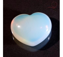 Heart of blue opal