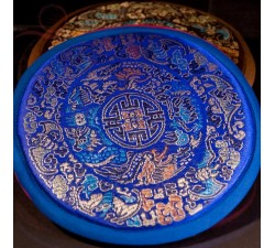 Round holder for Tibetan satin bowls.