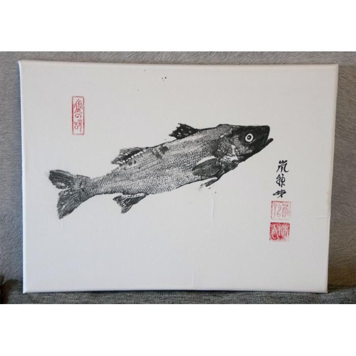 Gyotaku, poulpe