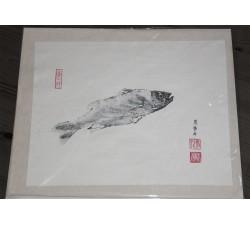 Gyotaku, poisson