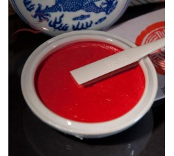 Pâte à sceau, rouge, Sha si lin, 30g