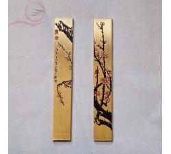 Presse papier en métal décoré