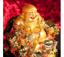 Buddha laughing luck and prosperity