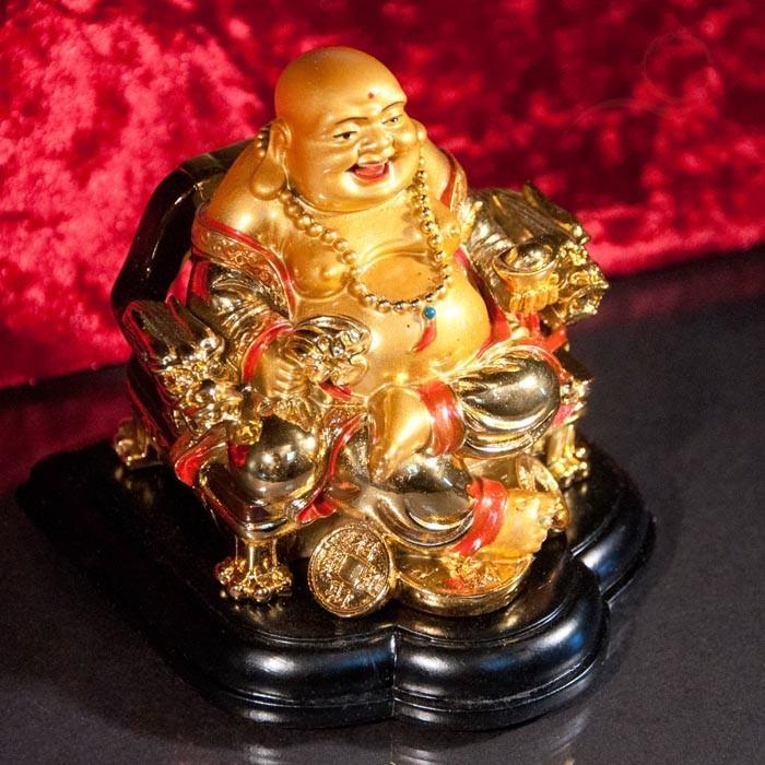 Bouddha rieur chance et prospérité