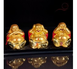 3 bouddhas or, ne pas ...