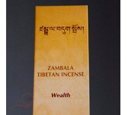 "Tibetan incense ""wealth"""