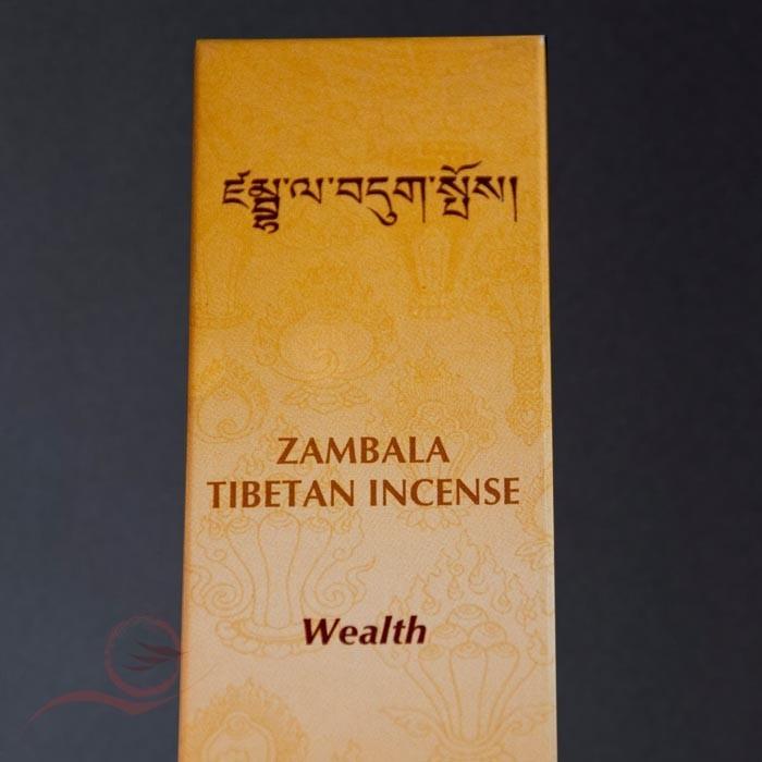 "Tibetan incense ""wealth"""