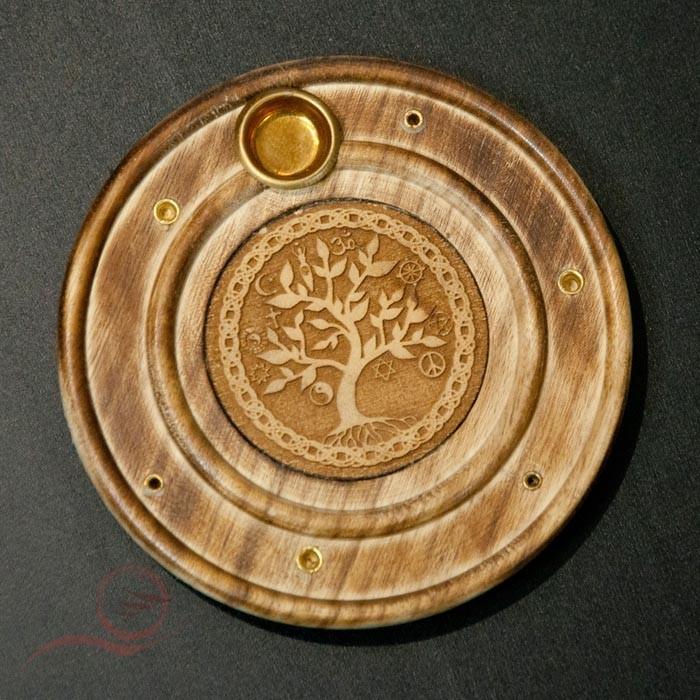 Incense burner tree life