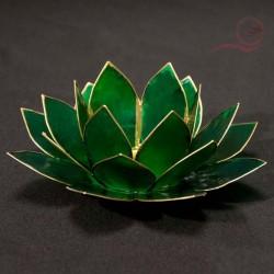 Bougeoir lotus vert, lyon