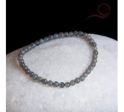 Bracelet, en perles de labradorite