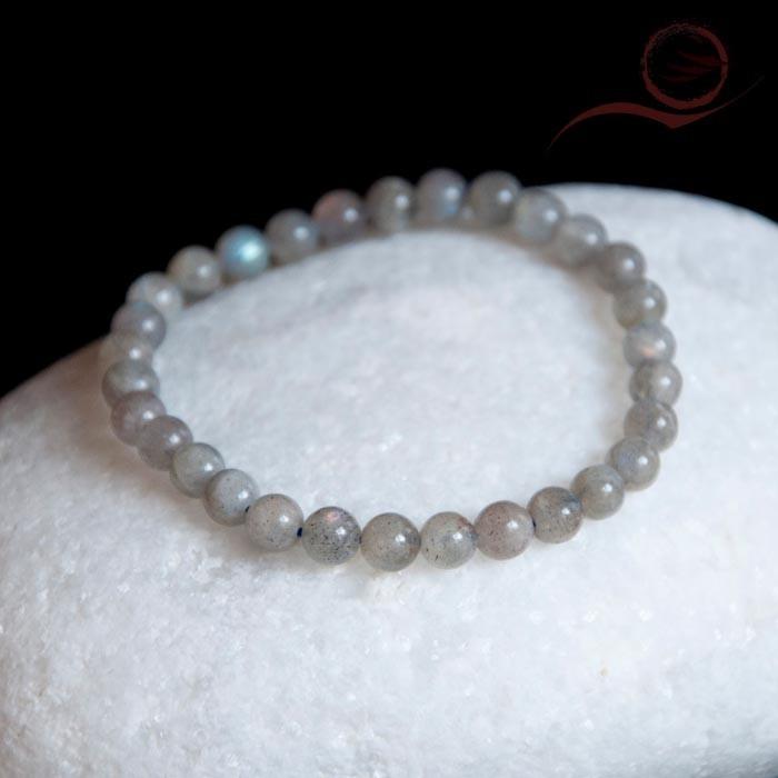Labradorite stone bracelet, 0.6mm