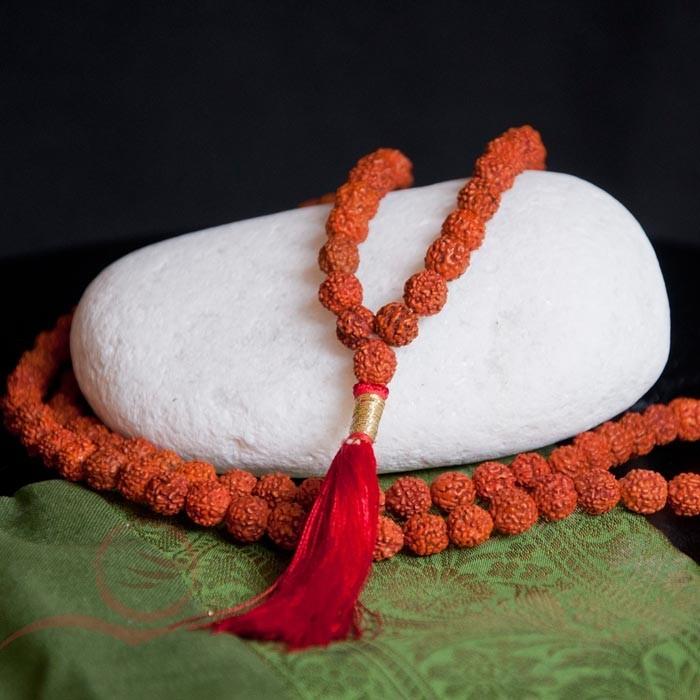 Mala in rudraksha