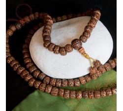 Mala en graines rudraksha, lyon