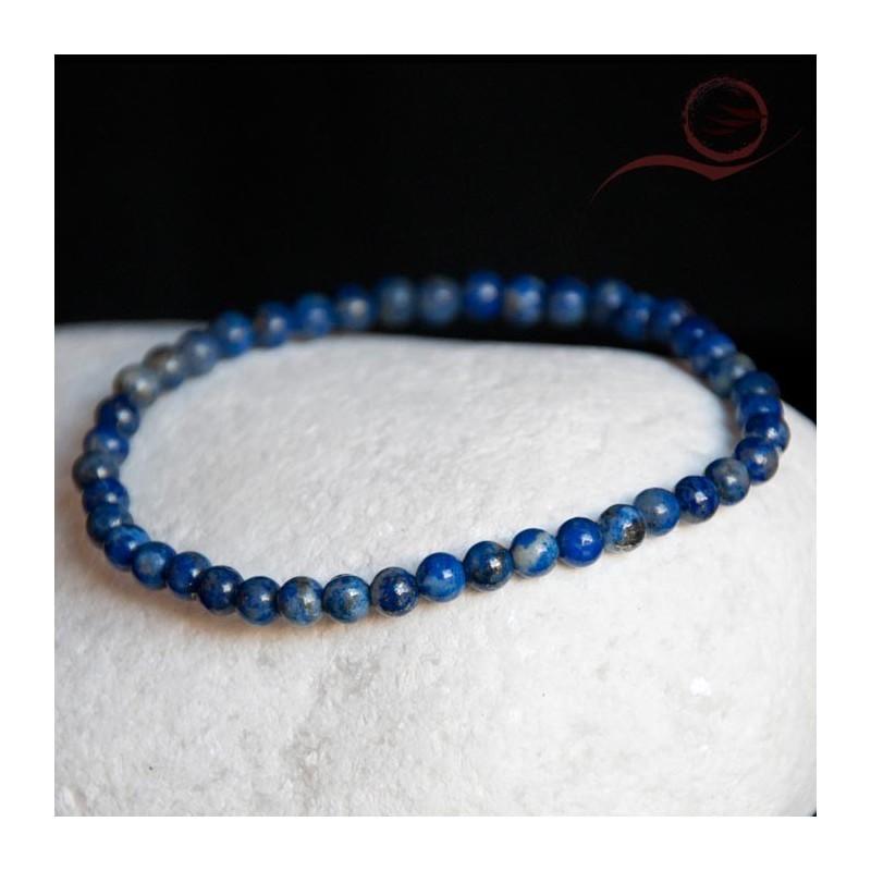 Bracelet en Lapis Lazuli 4mm