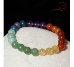 Bracelet 7 chakras lyon