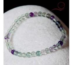 Bracelet en fluorite 4mm lyon