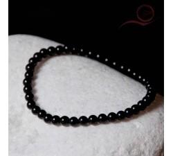 Bracelet en onyx 4mm