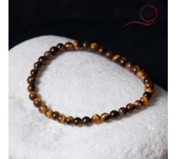 Bracelet en oeil de tigre 4mm lyon