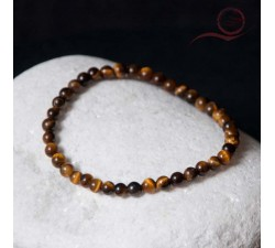 Tiger eye stone bracelet 4mm