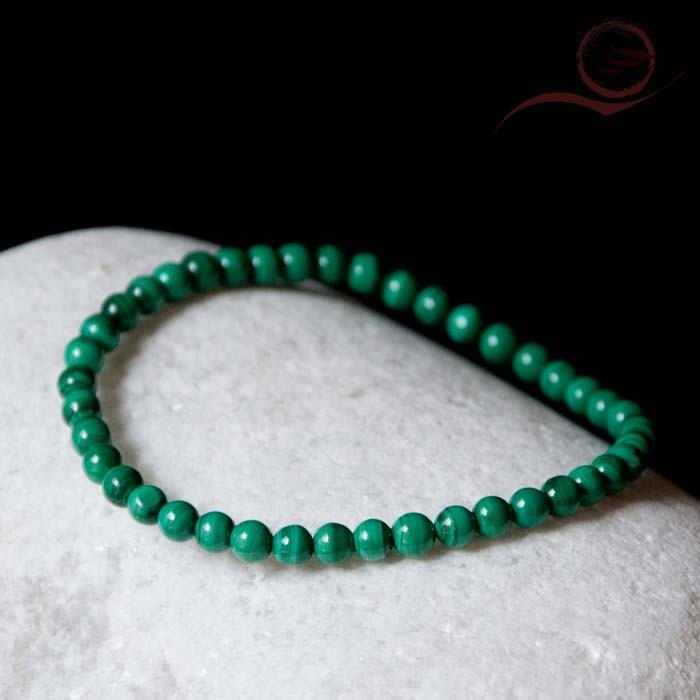 Malachite bracelet 4mm