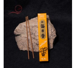 Morning Star incense, amber