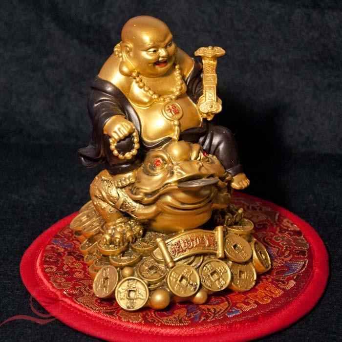 Bouddha et crapaud