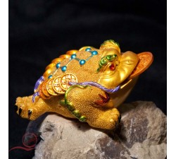 The three-legged toad gold